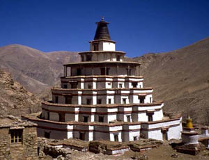 Great Jonang stupa or  Kumbum - courtesy Don Croner